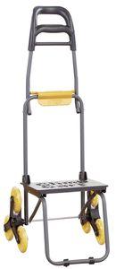 Climb Cart Stufen-Transportroller, Farbe Grau/Gelb