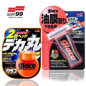 orig SOFT99 Glaco Scheibenversiegelung + Soft99 Glaco Reiniger 04146+04101 INB, Transparent