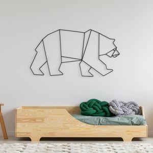 Selsey - Kinderbett DAVITEZ aus Holz mit Lattenrost und Runterfallschutz, 90x200 cm