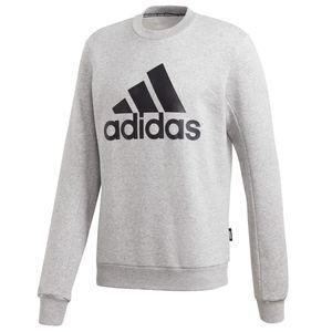 adidas Pullover Rundhals Herren, Größe:XXL, Farbe:Grau