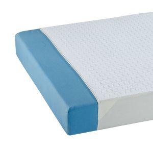 SUPRIMA Saugende mehrfach Inkontinenzauflage Baumwolle mit Seitenteilen 75 x 165 cm 1 Stück