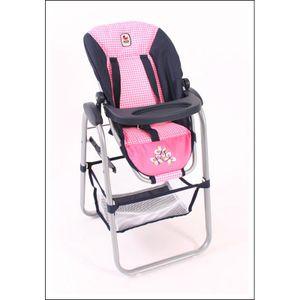 Bayer Chic 2000 - Hochstuhl - Dessin Pink Checker