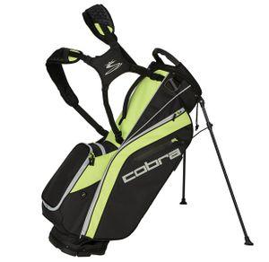 Cobra Ultralight Stand Bag / Golfbag Schwarz/Gelb Puma Golftasche 909263, Farbe:schwarz / gelb