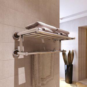 Handtuchhalter Handtuchständer mit 6 Stangen Edelstahl