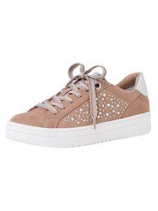 Marco Tozzi Damen Sneaker beige 2-2-23736-26 F-Weite Größe: 39 EU
