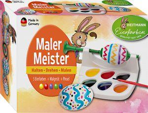 "HEITMANN Eiermalmaschine ""Malermeister"" inkl. 1 Pinsel"