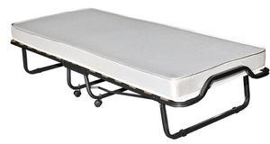 Raumsparbett Klappbett inklusive Rost & Matratze metallic