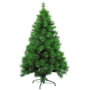 Künstlicher Wohaga Weihnachtsbaum 'Pine' 150/180cm künstlicher Tannenbaum inkl. Baumständer Kunststoff/Metall Grün, Größe:150cm