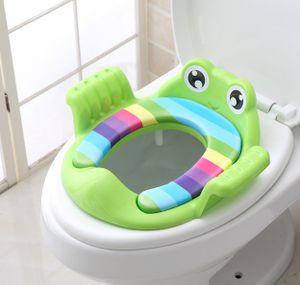 WC Sitz Gepolstert Kinder Toilettensitz Kinderklo Klositz Kind Toilettentrainer
