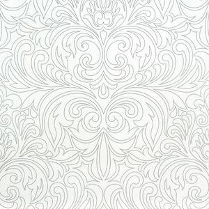 Marburg Homestory Vliestapete 54606 Barock weiß silber