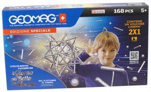 Geomag Classic Silber XL Set 168 teilig Magnetspielzeug