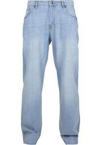 Urban Classics Herren Loose Fit Jeans TB3078, size:36/34, color:mid indigo