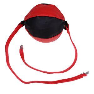 Double End Striking Bag, Boxsack für Hochleistungsboxen, Kampfausrüstung für 22cm Schwarz und Rot