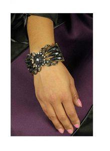 K83250097 altgold-schwarz Damen Armspange Schmuckstück