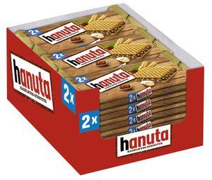 Ferrero Hanuta 2er Waffel im 18er Big-Pack (18 x 44g Waffel)