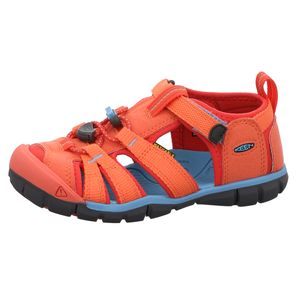 KEEN Seacamp II CNX Sandale rot Größe 29, Farbe: coral-poppy red