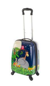 Travelhouse - Happy Children - Elephant - 27 l - Kindergepaeck Kindertrolley Kinderkoffer Reisekoffer Jungen Handgepaeck Reisegepaeck