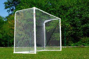 """Fußballtor 3 x 2m """"STADION"""" aus uPVC - wetterfest mit Klicksystem von POWERSHOT® - Fussballtor Garten"""