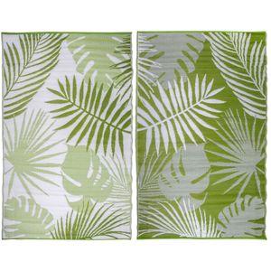 Esschert Design Outdoor-Teppich 241×152 cm Dschungelblätter OC22