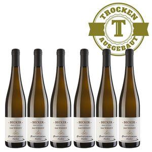 Weißwein Rheinhessen Gewürztraminer Weingut Becker Hüttberg trocken ( 6 x 0,75)