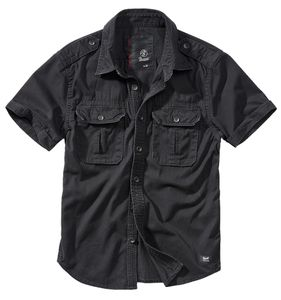 Brandit Shirt Vintage Shortsleeve schwarz : 7XL