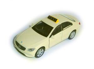 Taxi MERCEDES BENZ E-Klasse E400 Metall Modellauto Modell Auto Spielzeugauto 61