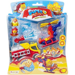 SuperZings Fire Strike Super Zings Feuerwehr Spielzeug
