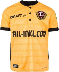 Craft Dynamo Dresden Home 2018/19 Fußballtrikot Mehrfarbig - Unisex - Kinder, Größe:140