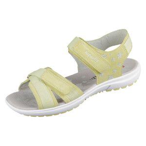 Superfit RAINBO Mädchen Sandale in Gelb, Größe 34