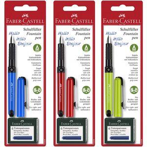 Faber Castell Fountain Pen Schulfüller für Rechts und Linkshänder
