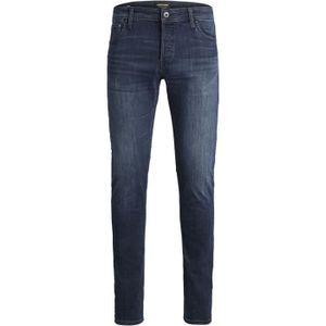 JACK & JONES JEANS NZGLENN Slim-Fit, Farbe:Blue Denim 812 / Dunkelblau, Hosengröße:W34/L34
