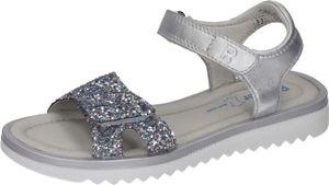 Richter Mädchen Sandale in Silber, Größe 33