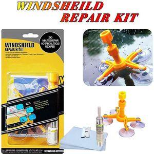 Kfz-Glasreparaturwerkzeuge Windschutzscheiben-Schnellreparaturflüssigkeitssatz Kunststoff- & Gummipflege