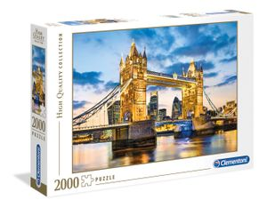 Clementoni puzzle Tower Bridge 2000 Teile