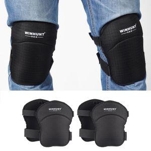 2 Paar Knieschoner Knieschützer Knieschutz Kneepads Kniepolster Knieprotektor, Geschenk für Bodenleger und Dachdecker