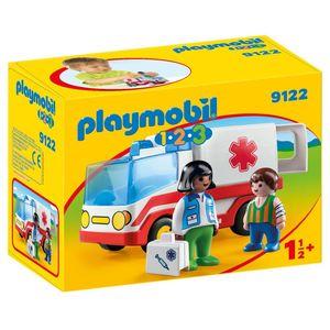 PLAYMOBIL 9122 1.2.3 Rettungswagen