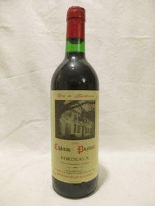 bordeaux château puylazat rouge 1989 - bordeaux