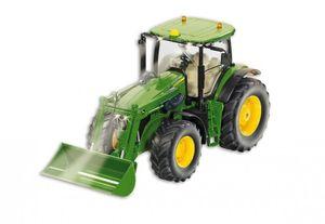 Siku Traktor mit Frontlader John Deere; 6777