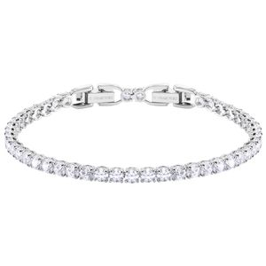 Swarovski 5409771 Armband Damen Tennis Round Deluxe Weiss Silber-Ton