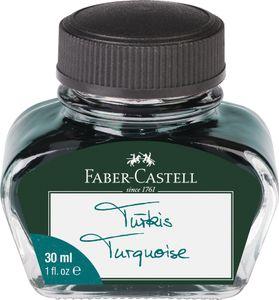 FABER-CASTELL Tinte im Glas türkis Inhalt: 30 ml