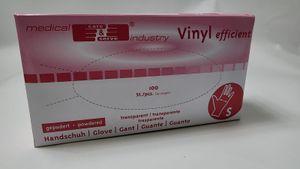 Wiros Vinyl-Handschuh gepudert  Gr S