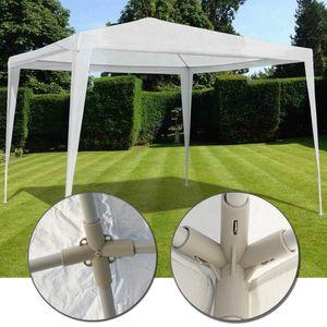 Gartenpavillon 3x3 m easyUP Wasserdicht - Einfache Stecksystem Montage