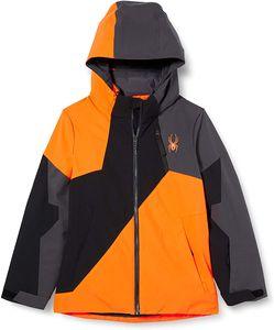 Spyder Ambush Skijacke Orange - Unisex - Kinder, Größe:140