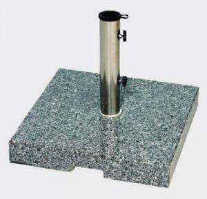 Siena Garden Sonnenschirmständer Granit 45kg granitgrau Ø 25-55mm