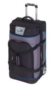 Reisetasche mit 2 Rollen 125L Trolley 85 x 40 x 40 cm Reisetrolley 4,5 kg Blau