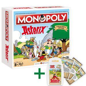 Monopoly Asterix exklusive Collector's Edition Brettspiel deutsch / französisch