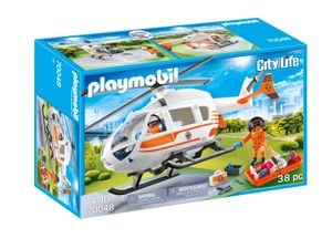 PLAYMOBIL City Action 70048 Rettungshelikopter