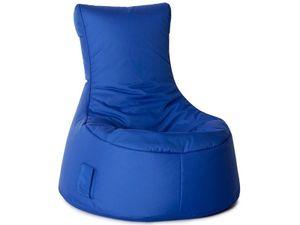 Sitzsack Swing Scuba 95 x 90 x 65 cm,  Dunkelblau Swing