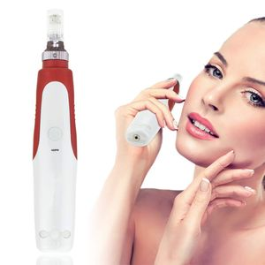 Hikeren Elektrisch Microneedling Pen, 25mm-2.0mm, verstellbare Nadellänge und Geschwindigkeit ,Anti Cellulite Falten Akne Narben