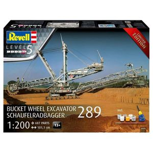 Revell 05685 Schaufelradbagger 289 Ltd.Edition Baumaschinen Bausatz 1 1200